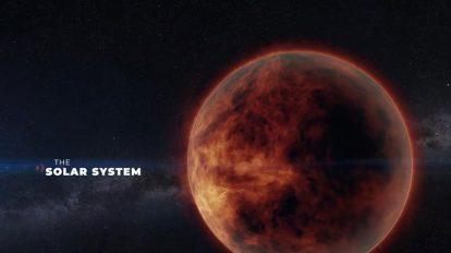 پروژه پریمیر نمایش عناوین با سیارات سیستم خورشیدی Solar System Titles