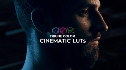 مجموعه پریست رنگ سینمایی Triune Digital Cinematic LUTs