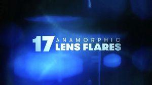 مجموعه فوتیج افکت نور لنز آنامورفیک Anamorphic Lens Flares