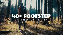 مجموعه 40 افکت صوتی قدم پیاده روی Footstep SFX