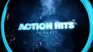 مجموعه فوتیج برای کامپوزیت جلوه های ویژه اکشن Action Hits Toolkit