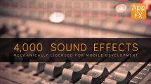 مجموعه افکت صوتی اپلیکیشن App FX Sound Effects Library