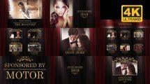 پروژه افترافکت پرزنتیشن جوایز Awards Presentation Pack
