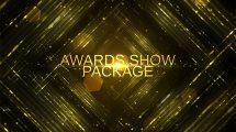 پروژه افترافکت اجزای ویدیویی مراسم جوایز Awards Show Pack