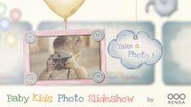 پروژه افترافکت اسلایدشو عکس کودک Baby Kids Photo Slideshow