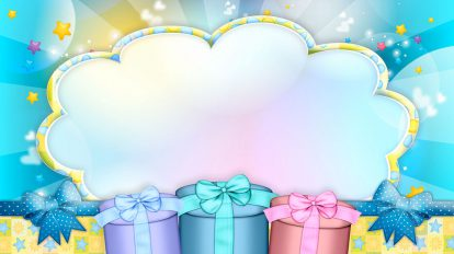 مجموعه ویدیوی موشن گرافیک تولد Children Footage Happy Birthday
