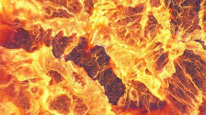 پروژه افترافکت نمایش لوگو انفجار آتش Fire Explosions Logo Reveal ii