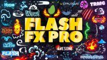 پروژه افترافکت ساخت انیمیشن کارتونی Flash FX Pro