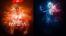 اکشن فتوشاپ انیمیشن انفجار پارتیکلی GIF Animated Particle Explosion