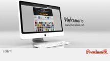 پروژه افترافکت تیزر تبلیغاتی وبسایت i Create