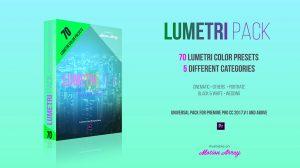 مجموعه پریست رنگ پریمیر Lumetri Color Presets Pack