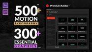 پروژه افترافکت مجموعه موشن تایپوگرافی Motion Typography