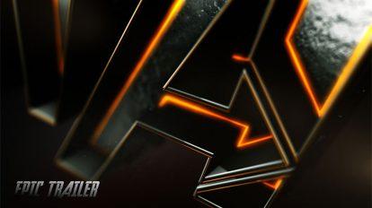 پروژه افترافکت افتتاحیه لوگو و تریلر فیلم Movie Trailer and Logo Opener 3D