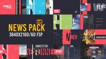 پروژه افترافکت برودکست خبری News Pack V2