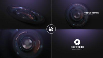 پروژه افترافکت نمایش لوگو عکاسی Photography Logo Reveal