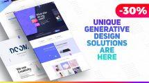 پروژه افترافکت تیزر تبلیغاتی وبسایت Premium Website Presentation