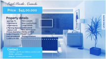پروژه افترافکت نمایش املاک Real Estate Display
