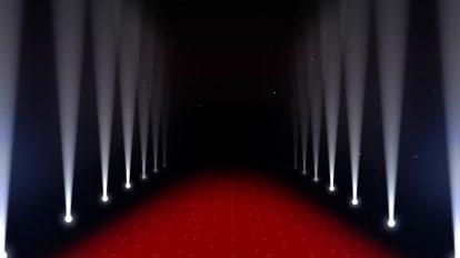 ویدیوی موشن گرافیک نورپردازی در مراسم فرش قرمز