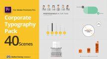 پروژه پریمیر تایپوگرافی شرکتی برای سئو SEO Corporate Typography Pack