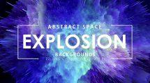 مجموعه تصاویر زمینه انفجار فضایی Space Explosion Backgrounds
