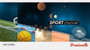 پروژه افترافکت برودکست ورزشی Sport Channel