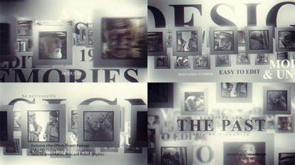 پروژه افترافکت افتتاحیه خاطرات گذشته The Past Memories Opener