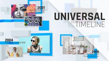 پروژه افترافکت تایم لاین Universal Timeline
