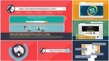 پروژه افترافکت تیزر تبلیغاتی وبسایت Website Stylish Promotion