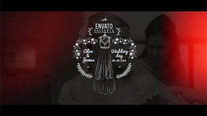 پروژه افترافکت اجزای موشن برای فیلم عروسی Wedding Film Package