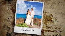 پروژه افترافکت اسلایدشو نمایش عکس عروسی Wedding Slideshow