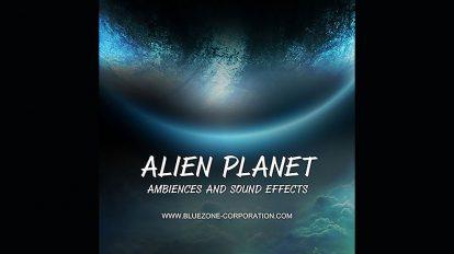 مجموعه افکت صوتی محیطی سیاره بیگانه Alien Planet Ambiences