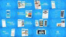 پروژه افترافکت تیزر تبلیغاتی اپلیکیشن موبایل App Promo