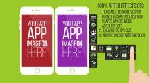 پروژه افترافکت تیزر تبلیغاتی اپلیکیشن App Promotion