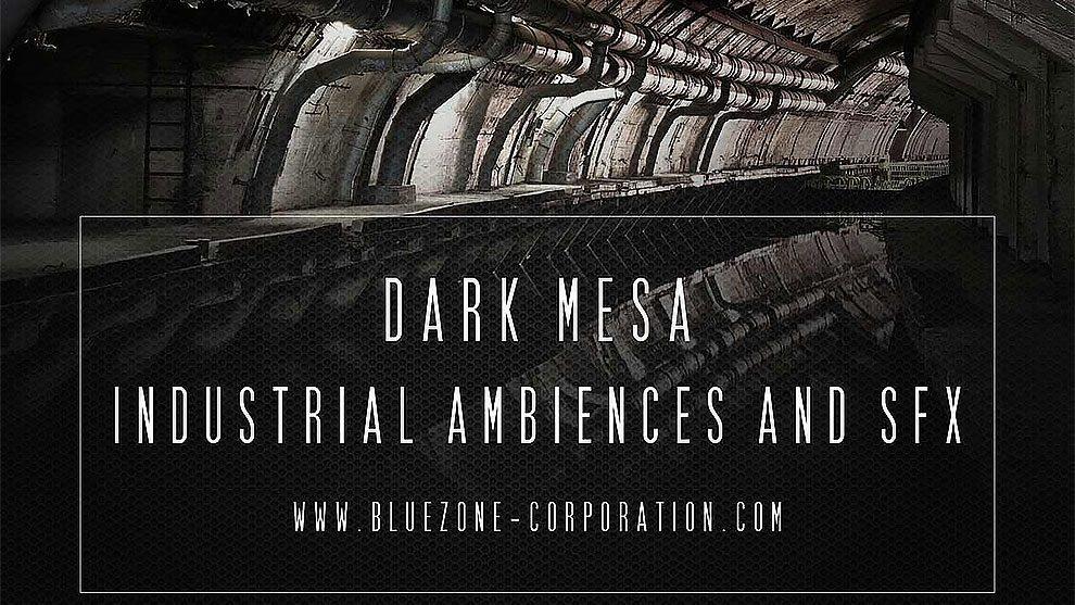 مجموعه افکت صوتی محیطی صنعتی Dark Mesa Industrial Ambiences