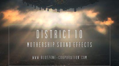 مجموعه افکت صوتی علمی تخیلی District 10 Mothership Sound Effects