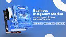 پروژه افترافکت مجموعه استوری اینستاگرام Business Instagram Stories