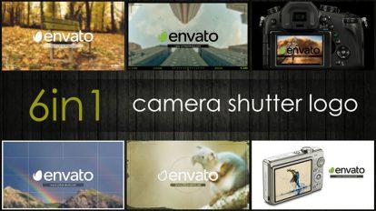 پروژه افترافکت نمایش لوگو با شاتر دوربین Camera Shutter Logo