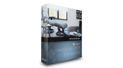 مجموعه مدل سه بعدی مبلمان CGAxis Models Volume 75 Furniture vi