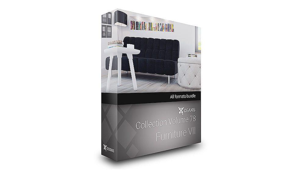 مجموعه مدل سه بعدی مبلمان CGAxis Models Volume 78 Furniture vii