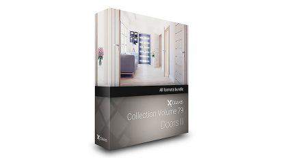 مجموعه مدل سه بعدی در CGAxis Models Volume 79 Doors ii