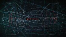 پروژه افترافکت تریلر ترافیک شهر City Traffic Trailer
