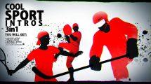 پروژه افترافکت اینترو ورزشی Cool Sport Intro 3 in 1