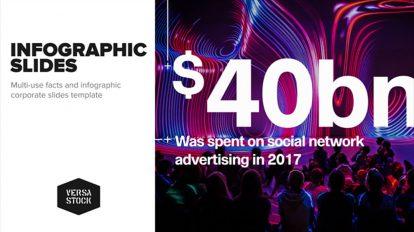 پروژه افترافکت مجموعه اسلاید اینفوگرافیک شرکتی Corporate Infographic