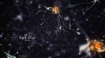 پروژه افترافکت نمایش عناوین علمی Dark Viral Titles