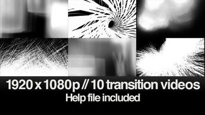 مجموعه ویدیوی موشن گرافیک ترانزیشن HD Transitions Bundle