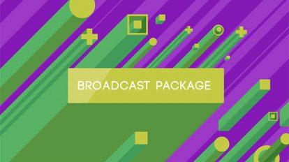 پروژه افترافکت مجموعه اجزای برودکست ایزومتریک Isometric Broadcast