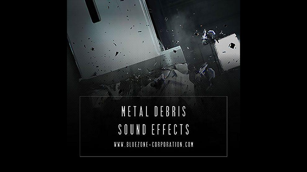 مجموعه افکت صوتی آوار فلزی Metal Debris Sound Effects