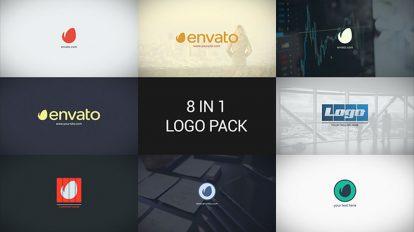 پروژه افترافکت مجموعه نمایش لوگو مینیمال Minimal Logo Pack