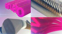پروژه افترافکت نمایش لوگو چندگانه Multiple Logo