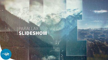 پروژه افترافکت اسلایدشو با افکت پارالکس Parallax Slideshow